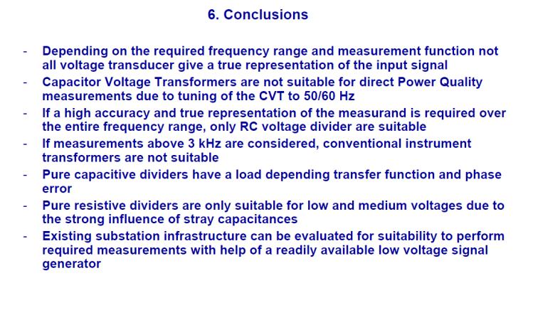 Instrument transformer for measuring power quality_slide27