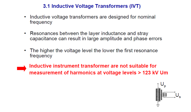 Instrument transformer for measuring power quality_slide7