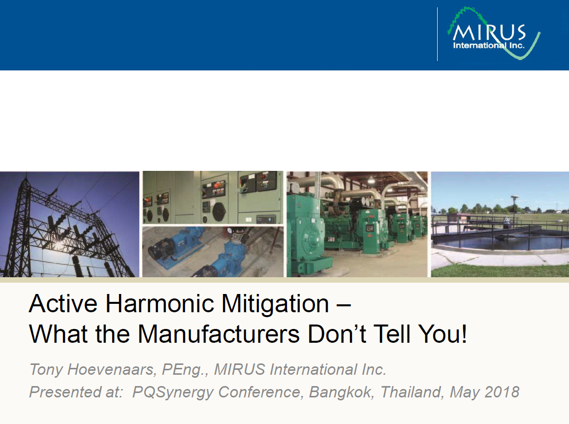 Active Harmonic Mitigation-What the Manufacturers Don't Tell You_1