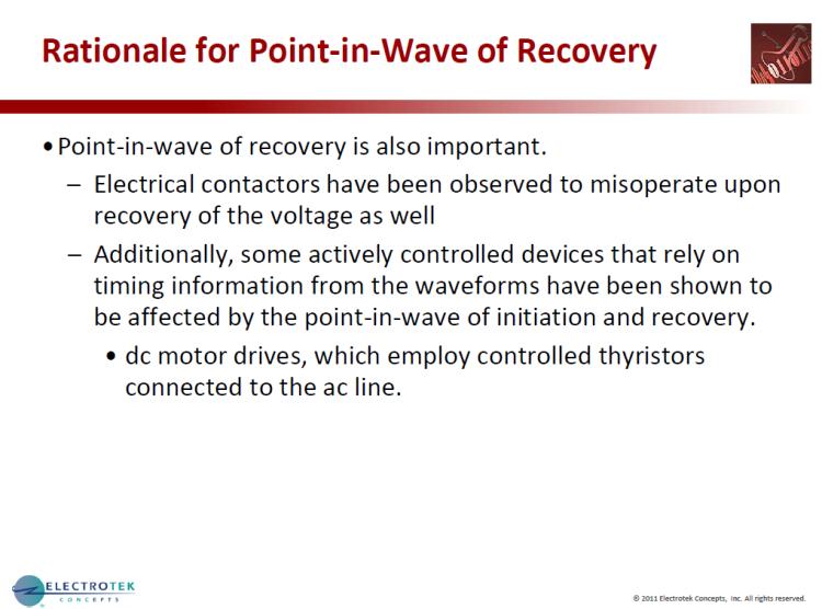 Characterizing Voltage Sag Waveforms using IEEE P1159.2 Algorithms_13