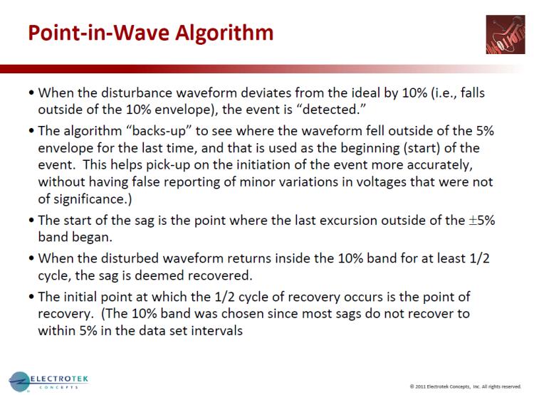 Characterizing Voltage Sag Waveforms using IEEE P1159.2 Algorithms_14
