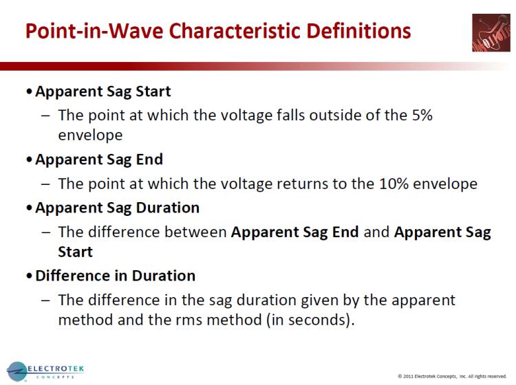 Characterizing Voltage Sag Waveforms using IEEE P1159.2 Algorithms_15