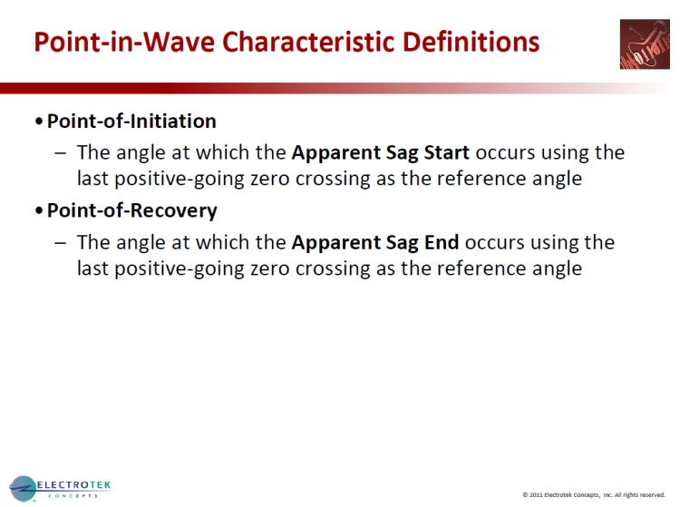 Characterizing Voltage Sag Waveforms using IEEE P1159.2 Algorithms_16