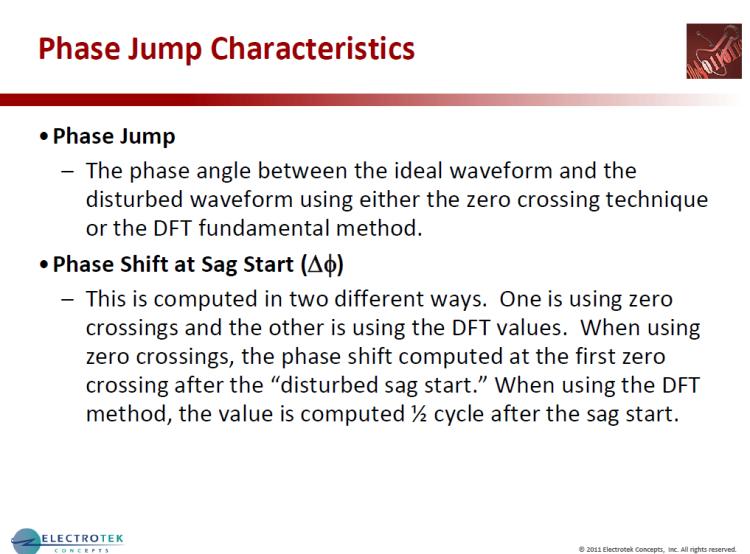 Characterizing Voltage Sag Waveforms using IEEE P1159.2 Algorithms_28