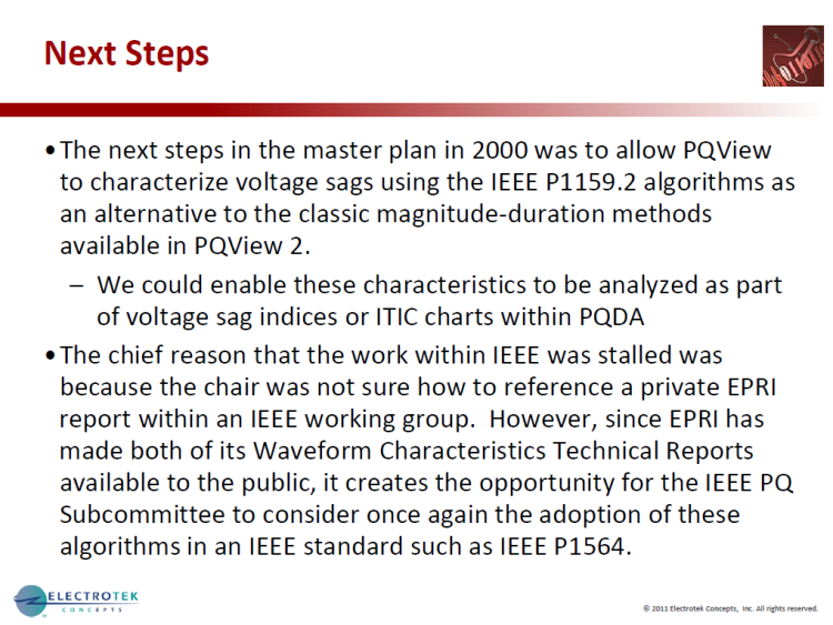 Characterizing Voltage Sag Waveforms using IEEE P1159.2 Algorithms_46