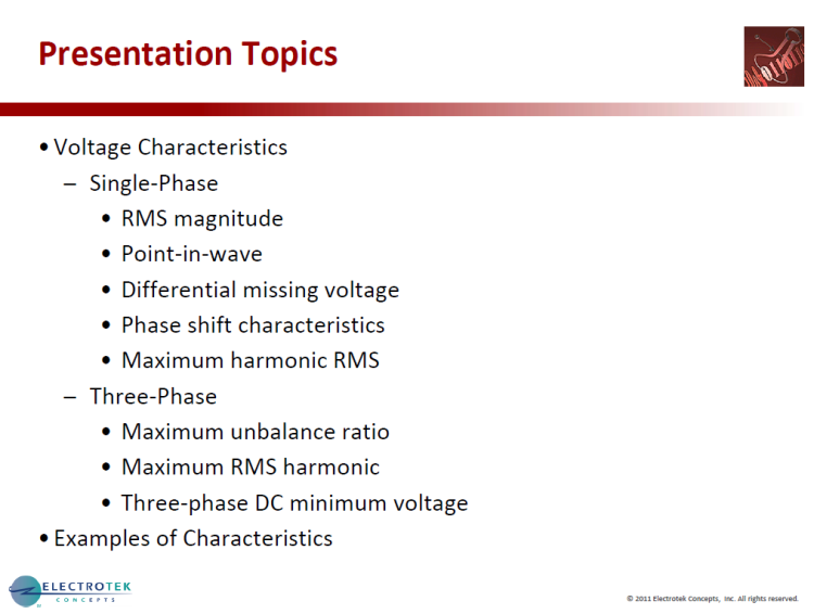 Characterizing Voltage Sag Waveforms using IEEE P1159.2 Algorithms_7