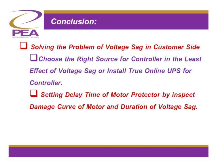 Chillers Shut downs caused by sensitivity of Controller to Voltage Sag_23