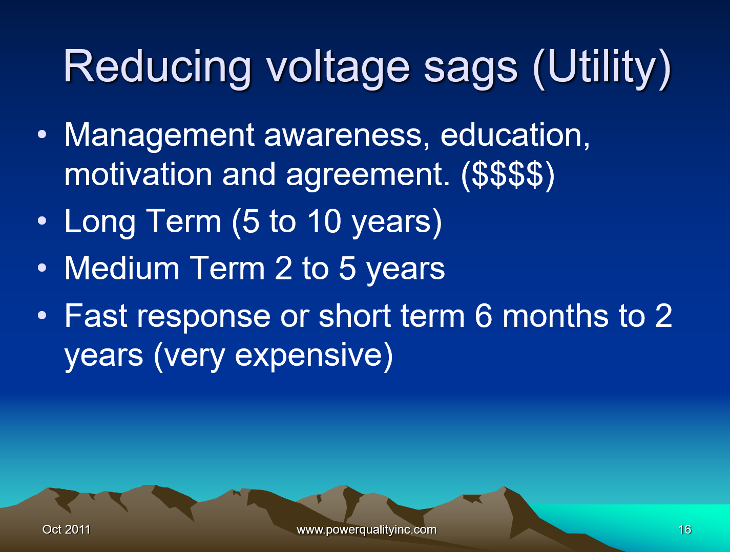 Power Quality the Economic Challenge for Utilities and Users_16