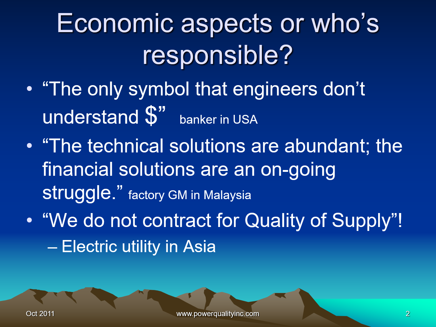 Power Quality the Economic Challenge for Utilities and Users_2