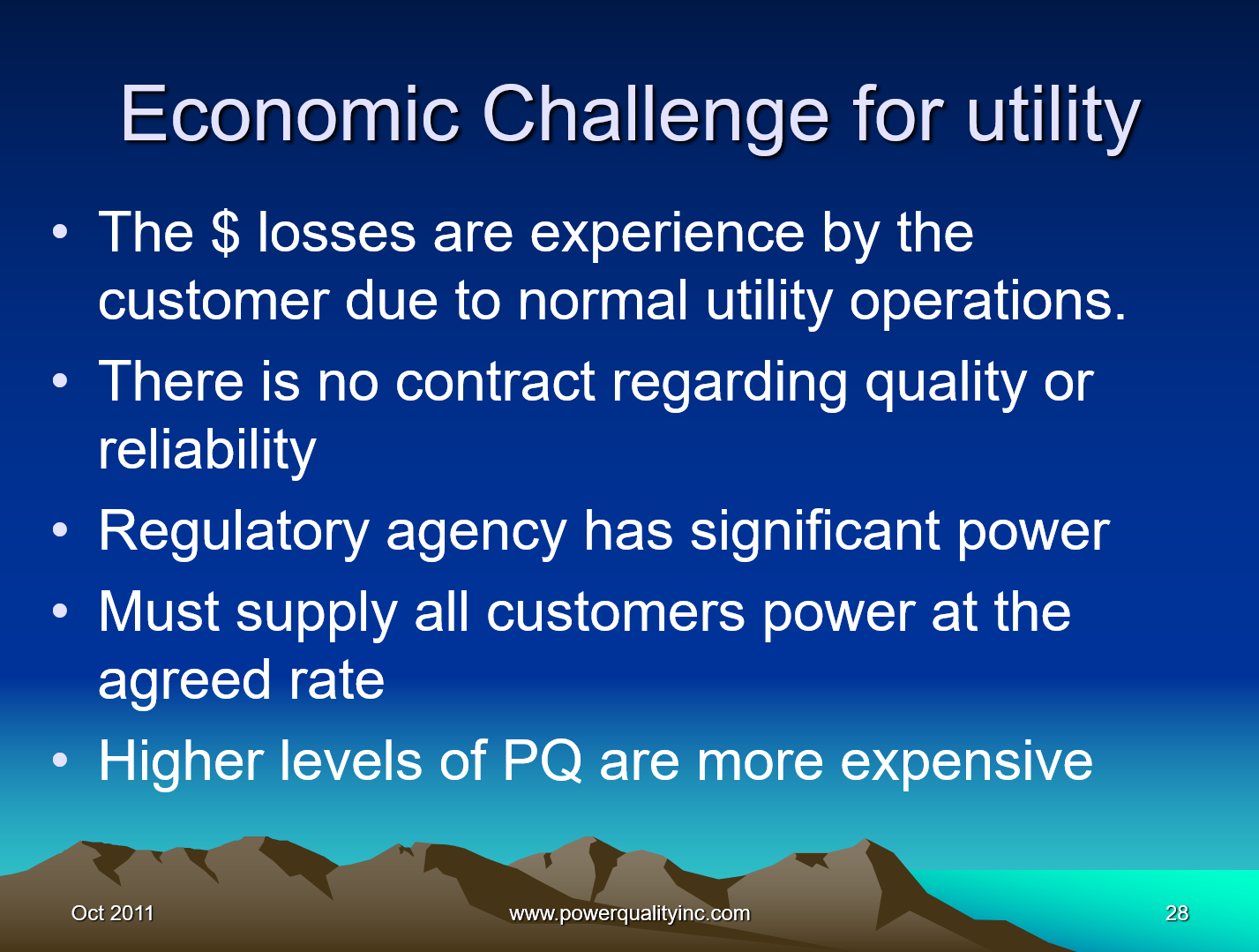 Power Quality the Economic Challenge for Utilities and Users_28