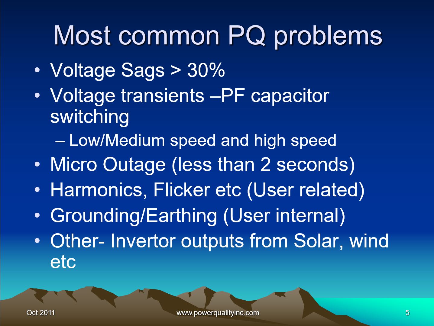 Power Quality the Economic Challenge for Utilities and Users_5