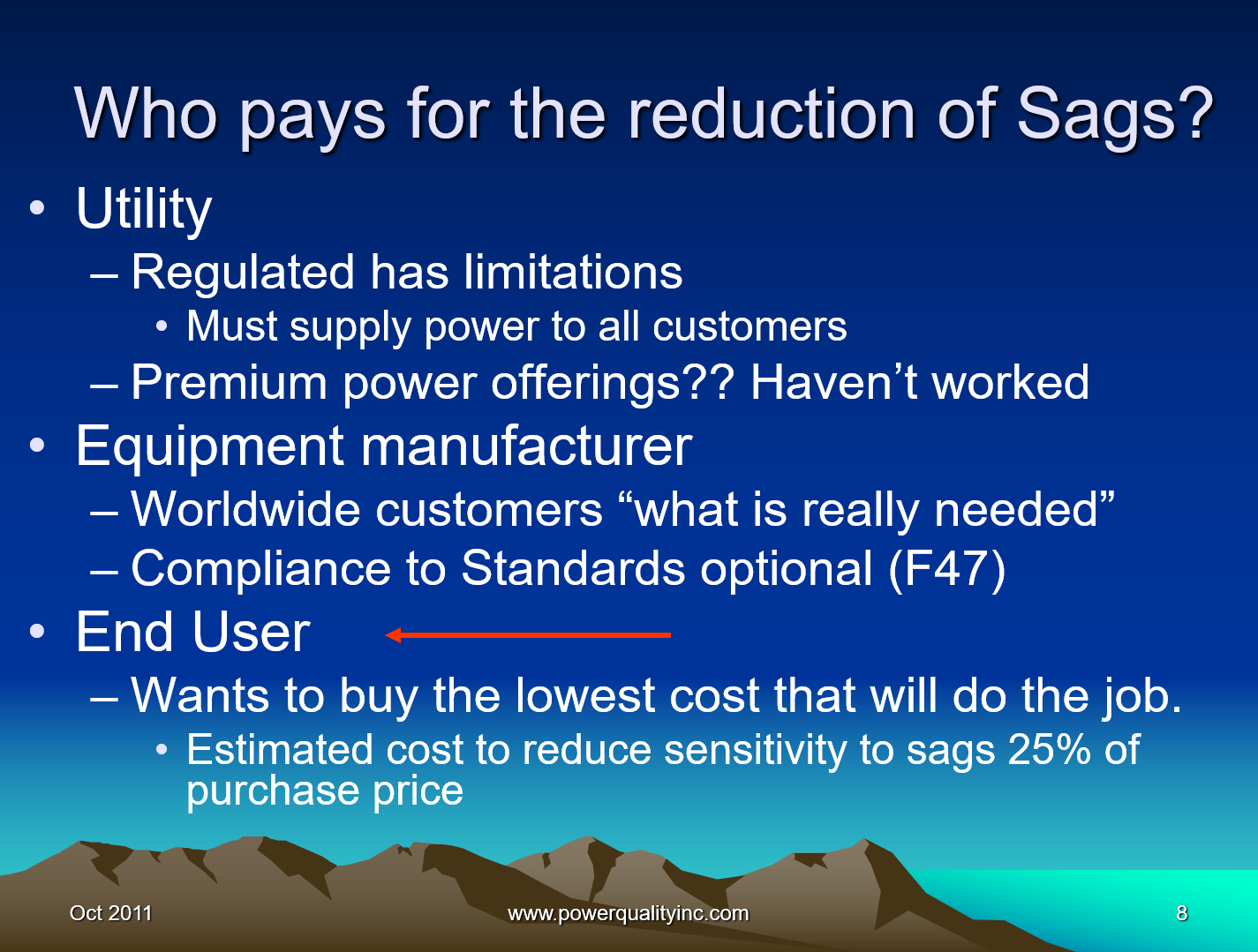 Power Quality the Economic Challenge for Utilities and Users_8