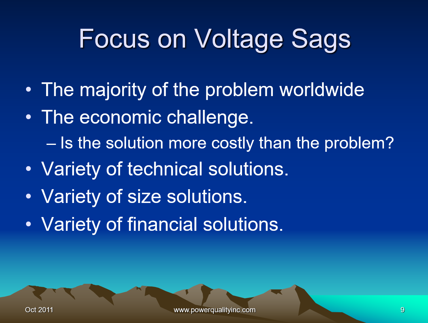 Power Quality the Economic Challenge for Utilities and Users_9