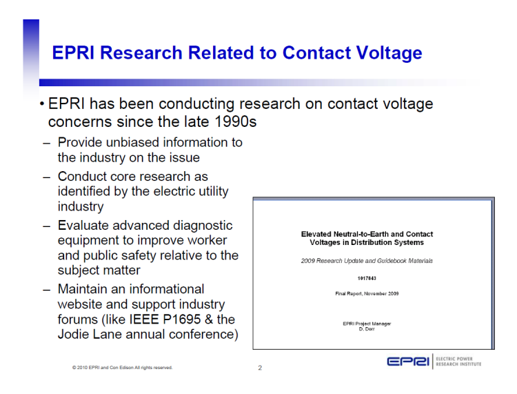 EPRI Safety Related Research Programs & Projects_2