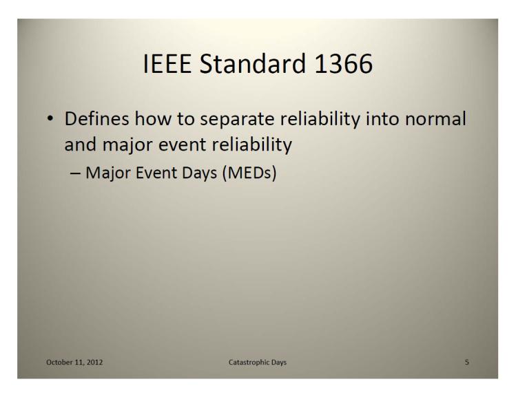 IEEE Standard 1366 – Classifying_5