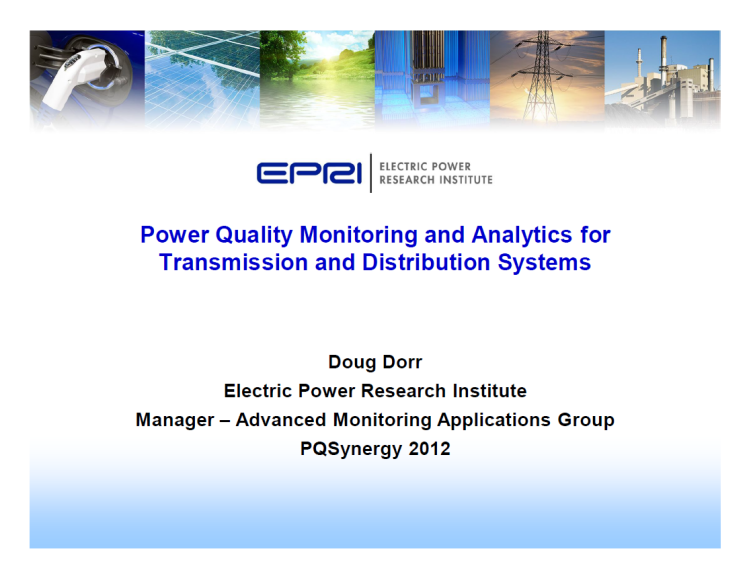 Power Quality Monitoring and Analytics for Transmission and Distribution Systems_1