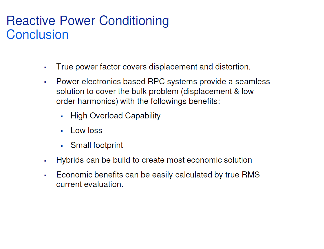 Reactive Power Conditioning_20