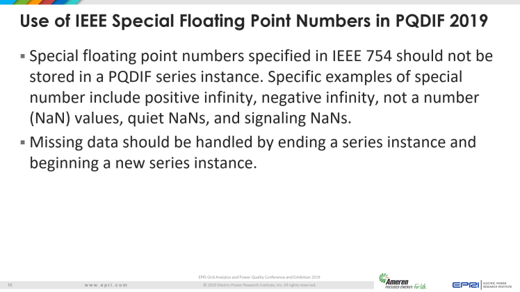 Overview of IEEE Standard 1159.3_16