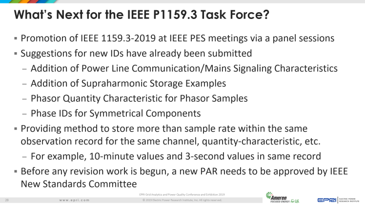 Overview of IEEE Standard 1159.3_28