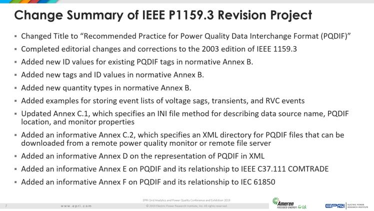 Overview of IEEE Standard 1159.3_7