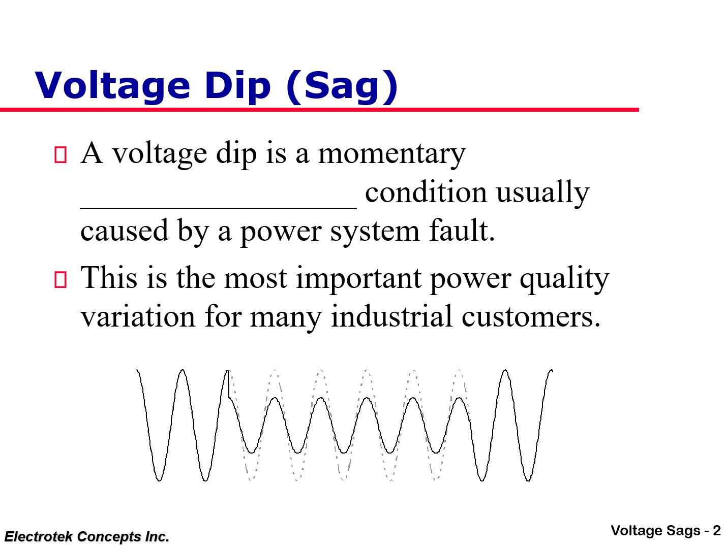 Understanding and Solving Voltage Sag Problems_2